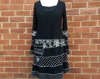 Tee dress upcycled by Niknok