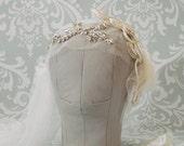 1930's Vintage Inspired Juliet Cap Veil
