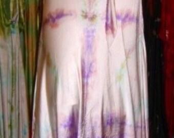 lavender turquoise pink opalescent silk halter wedding dress with train boho chic weddings beach weboho bridal bridesmaid dresses
