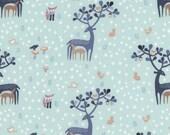 Hilltop in Mint  WG443 - HILLTOP - Dear Stella Fabric Designs  - By the Yard
