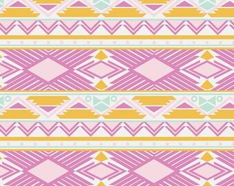 Tribal Study Jewel  (ANE-77502) - Anna Elise - Bari J Ackerman for Art Gallery Fabrics - By the Yard