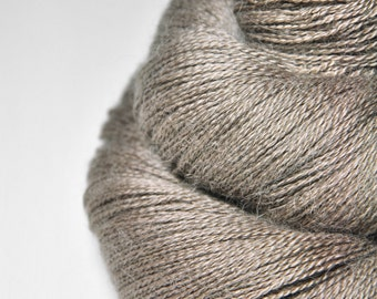 From a snail's point of view - BabyAlpaca/Silk Lace Yarn