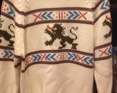 Sigallo Fire Breathing Dragon Sweater
