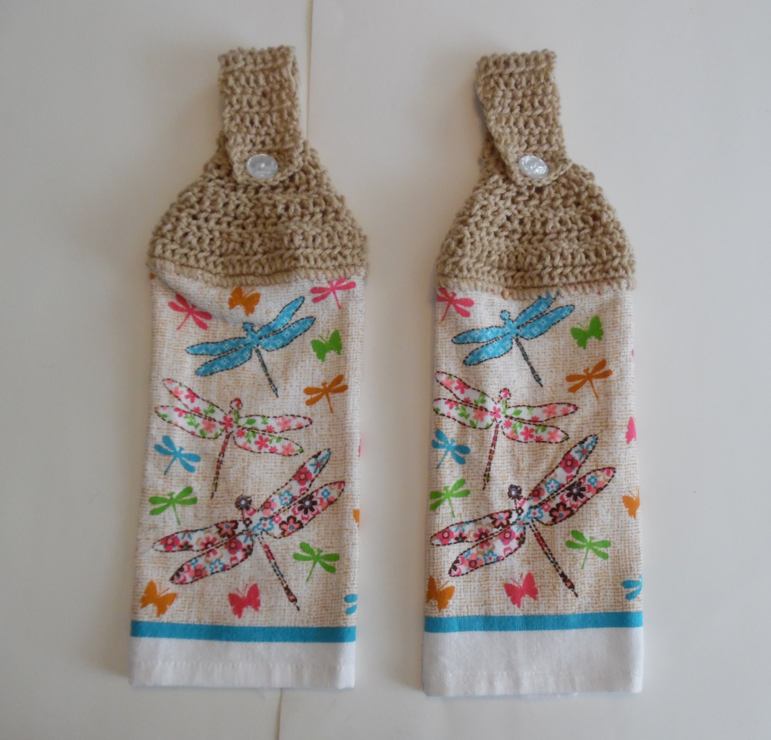 Crochet Summer Towel Hand Towel Kitchen Towel Kitchen Decor