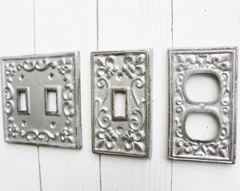 White Decorative Light Switch Covers New Light Switch Cover In Creamy Ivory White Switch Cover Inspiration