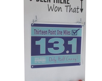 This Race Bibs Holders offer a perfect Race Bibs Displays - Been There Won That
