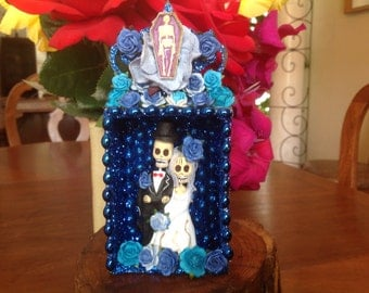 Day of the Dead Wedding Nicho/ Shrine