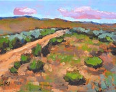 Boise Idaho- Original Oil Landscape Painting