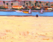 Ocean Beach, San Diego Landscape Painting- Reserved for John