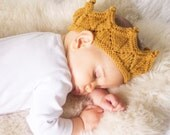 Antique Gold Lace Knit Crown Costume Headband