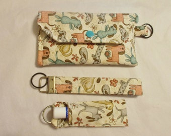 Practical pouch set