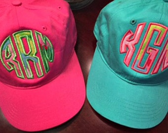 New Lilly Patterns**Lilly Pulitzer circle applique baseball cap