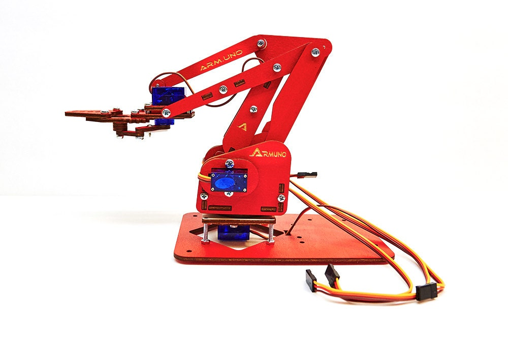 Armuno deluxe robotic arm kit arduino and mearm compatable