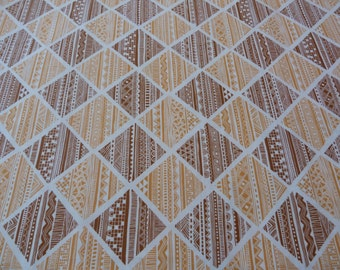 Terrace in Brown, Highline Collection by Erin McMorris for Free Spirit Fabrics, 1/2 yd