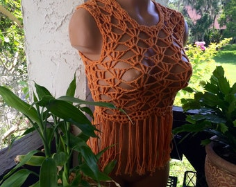 Sumer crochet top in small size