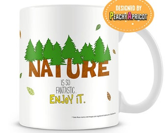 Father's Day Mug - Bob Ross Nature mug
