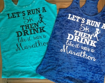 Lets run a 5K then drink like we ran a Marathon