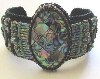 Embroidery bracelet