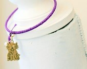 purple cat bangle
