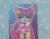 Demon Girl Lollipop Sticker