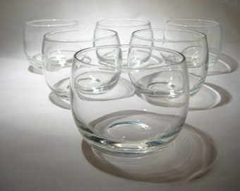 6 Roly Poly Glasses