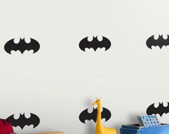 Hero Batman Wall Decal Nursery Decor, Removable Batman Wall sticker for KIDS, Batman Pattern