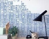 herringbone wall stencils