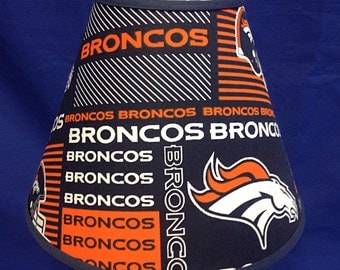 Broncos Lamp Shade