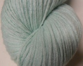 Mint Green Cashmere Reclaimed Yarn- 170 Yards