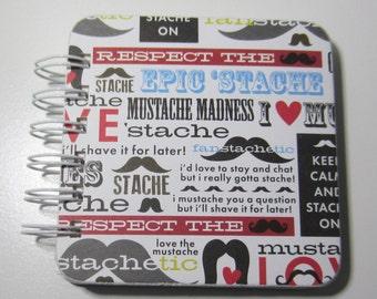 Mustache Password Book