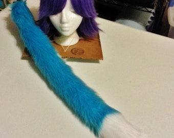 Two Tone Turquoise Tail and Ears Set