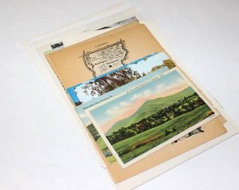 Vermont - United States Vintage Travel Collage Kit