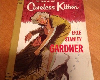 Perry Mason and the Case of the Careless Kitten - 1958 paperback