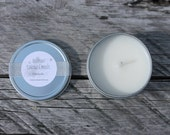 Citronella Scented Handpoured 4oz Pure Soy Candle Travel Tin-Vermont Cottage Candles