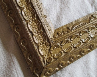 Antique Gold Gilded Picture Frame