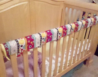 Crib rail cover--- No more teething!