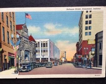 Hohman Street Hammond Indiana  Street Scene
