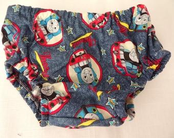 Thomas the Train Cotton Diaper Cover