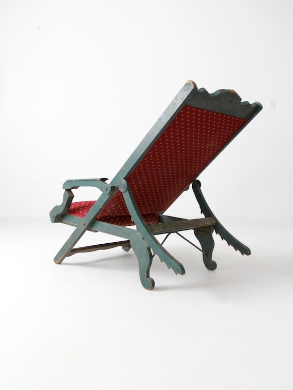 Victorian lawn chair 1800s recliner chair antique chair & Victorian lawn chair 1800s recliner chair antique chair islam-shia.org