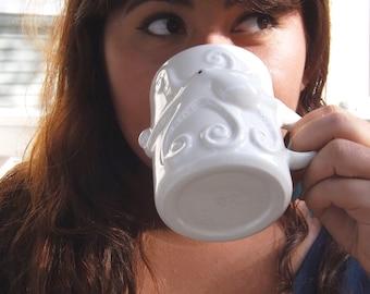 Ceramic-Handmade-Mug | Unique-Coffee-Mug | Handmade-Mug | Octopus | Handmade Ceramic from my Charleston, SC Studio