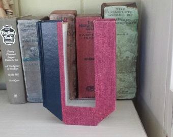 Upcycled Book Letter Decor - Red U University