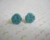 Blue Sea Shells Earring, Shell Earring, Sea Earrings, Sea Shells Jewelry, Blue Sea Jewelry