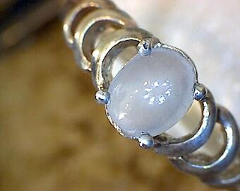 Beautiful White Jade Ring