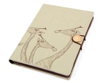Giraffe / iPad Air case, iPad cover, iPad Air cover, iPad case, Sony Xperia Z1 Z2 Z4 Samsung Galaxy Tab A 1 2 3 4 gift handmade case cover