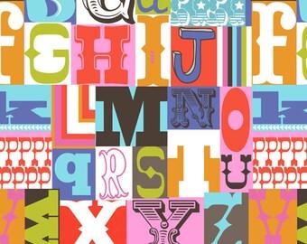 Blend Fabrics Alphabet print 1 yard