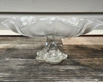 Glass Serving Platter Christmas Decor Cake Stand