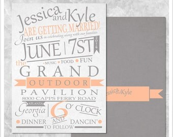 Storyboard Wedding Invitation Printable