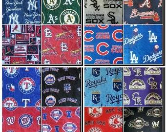 Choose your custom Baseball team. SassyCloth one size pocket diaper with baseball cotton print. Made to order.