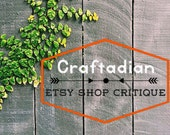 Etsy Shop Critique – Improve your Etsy Shop with personalized critique, Etsy Shop Help