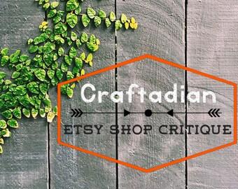 Etsy Shop Critique – Improve your Etsy Shop with personalized critique, Etsy Shop Help